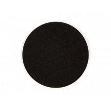 Черная фетровая наклейка для клюшки аэрохоккея Artmann 96 мм