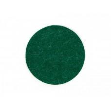 Зелёная фетровая наклейка для клюшки аэрохоккея Artmann 73 мм