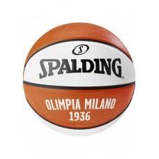Баскетбольный мяч Spalding EL Team Olimpia Milano Размер 7