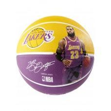Баскетбольный мяч Spalding NBA Player Ball Lebron James Размер 7