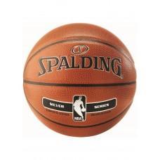 Баскетбольный мяч Spalding NBA Silver Indoor/Outdoor Размер 7