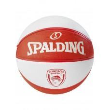 Баскетбольный мяч Spalding EL Team Olympiacos Piraeus Размер 7