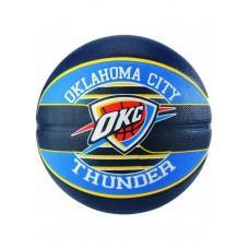 Баскетбольный мяч Spalding NBA Team OC Thunder Размер 7