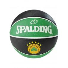 Баскетбольный мяч Spalding EL Team Panathinaikos Размер 7