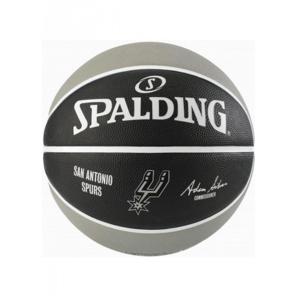 Баскетбольный мяч Spalding NBA Team SA Spurs Размер 7