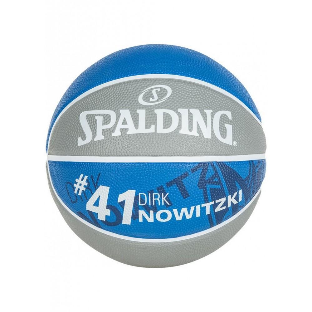 Баскетбольный мяч Spalding NBA Player Dirk Nowitzki Размер 7