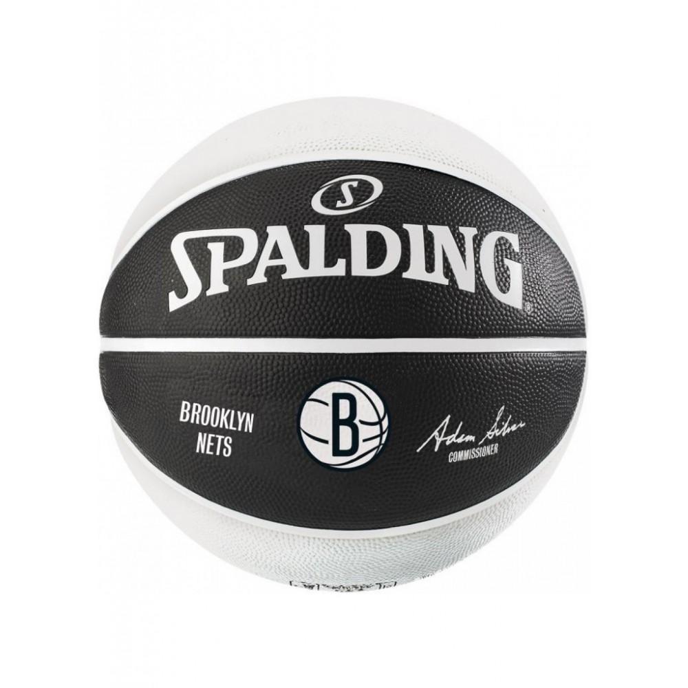 Баскетбольный мяч Spalding NBA Team Brooklyn Nets Размер 7