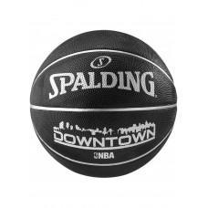 Баскетбольный мяч Spalding Downtown Black Размер 7