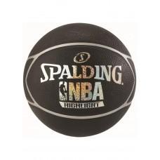 Баскетбольный мяч Spalding NBA Highlight Black/Silver Размер 7