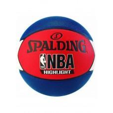 Баскетбольный мяч Spalding NBA Highlight Blue/Red Размер 7
