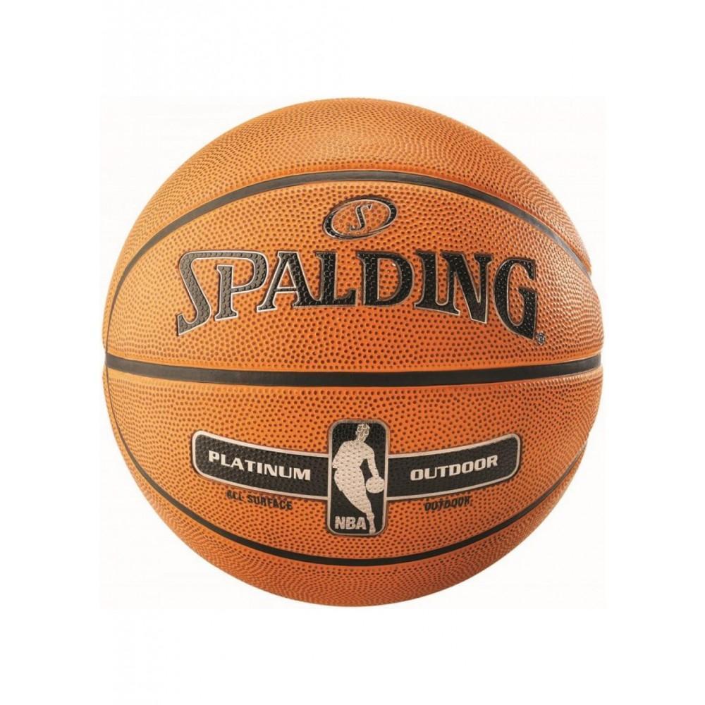Баскетбольный мяч Spalding NBA Platinum Outdoor Размер 7