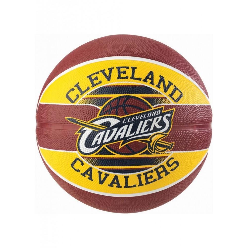 Баскетбольный мяч Spalding NBA Team Cleveland Cavs Размер 7
