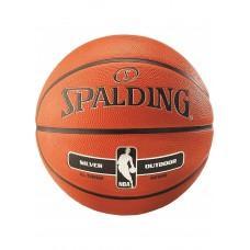 Баскетбольный мяч Spalding NBA Silver Outdoor Размер 5