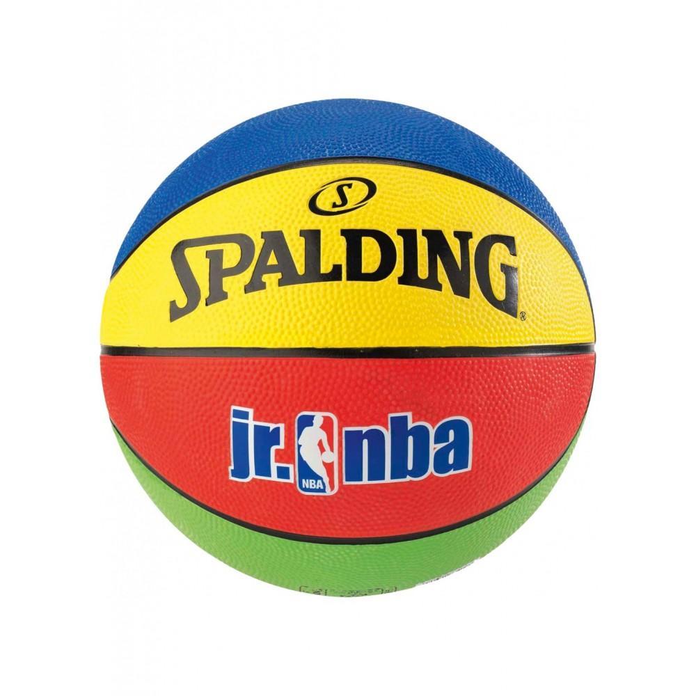 Баскетбольный мяч Spalding Jr. NBA/Rookie Gear Outdoor Размер 5