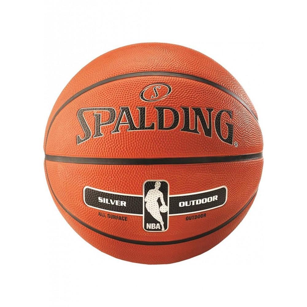 Баскетбольный мяч Spalding NBA Silver Outdoor Размер 6