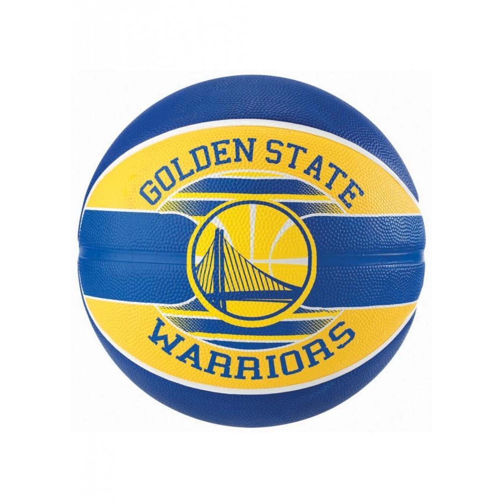 Баскетбольный мяч Spalding NBA Team GS Warriors Размер 7