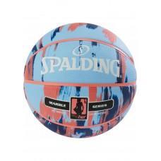 Баскетбольный мяч Spalding NBA Marble 4Her Outdoor Sky Blue/Royal/Red Размер 6