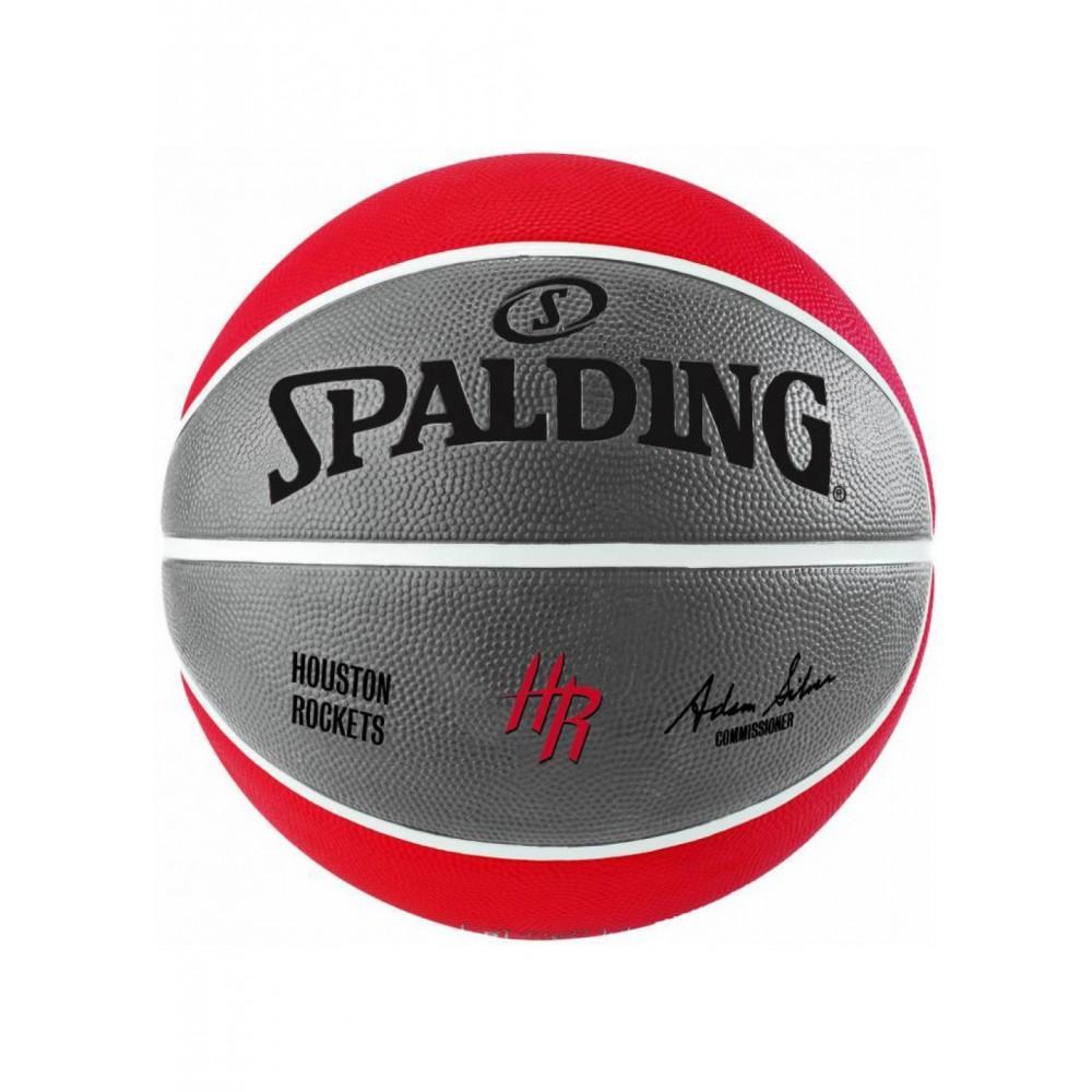 Баскетбольный мяч Spalding NBA Team Houston Rockets Размер 7