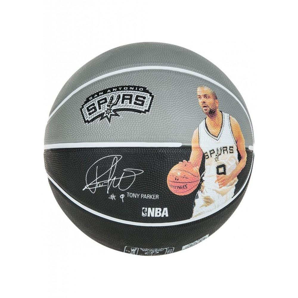 Баскетбольный мяч Spalding NBA Player Tony Parker Размер 7
