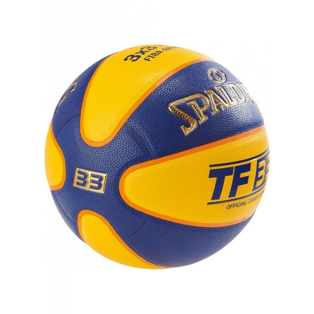 Баскетбольный мяч Spalding TF-33 Indoor/Outdoor FIBA Размер 6