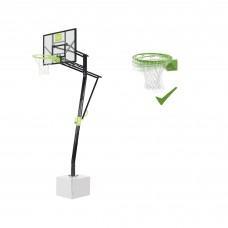 Стационарная баскетбольная стойка Exit Galaxy с кольцом с амортизацией