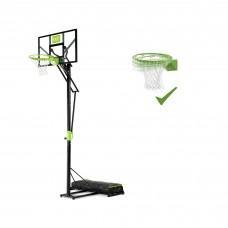 Мобильная баскетбольная стойка Exit Polestar с кольцом с амортизацией