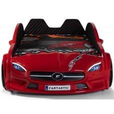 Детская кровать машина Mercedes 190 x 90 см, красная