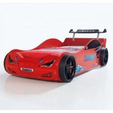 Детская кровать машина Supercar 190 x 90 см, красная