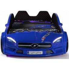 Детская кровать машина Mercedes 190 x 90 см, синяя