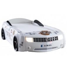 Детская кровать машина Chevrolet Camaro 190 x 90 см, белая