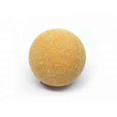 Желтый ворсистый мячик для настольного футбола Artmann 30 мм