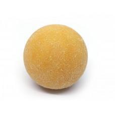 Желтый ворсистый мячик для настольного футбола Artmann 36 мм