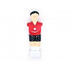 Футболист для настольного футбола Artmann 15,8 мм красно-чёрный