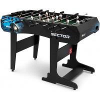 Настольный футбол Hop-Sport Sector Black/Blue