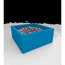"""Сухой бассейн с шариками Kidigo """"Lucky"""" Blue Квадратный"""