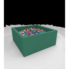 """Сухой бассейн с шариками Kidigo """"Lucky"""" Green Квадратный"""