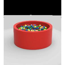"Сухой бассейн с шариками Kidigo ""Lucky"" Red Круглый"