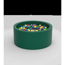 "Сухой бассейн с шариками Kidigo ""Lucky"" Green Круг"