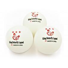 Мяч для настольного тенниса King Butterfly 3*