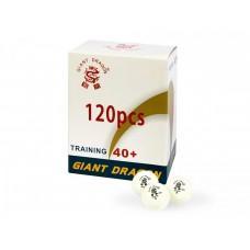 Набор из 120 белых теннисных шариков Giant Dragon Training Silver 40+ 1*