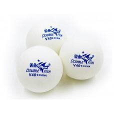 Мяч для настольного тенниса Double Fish V40