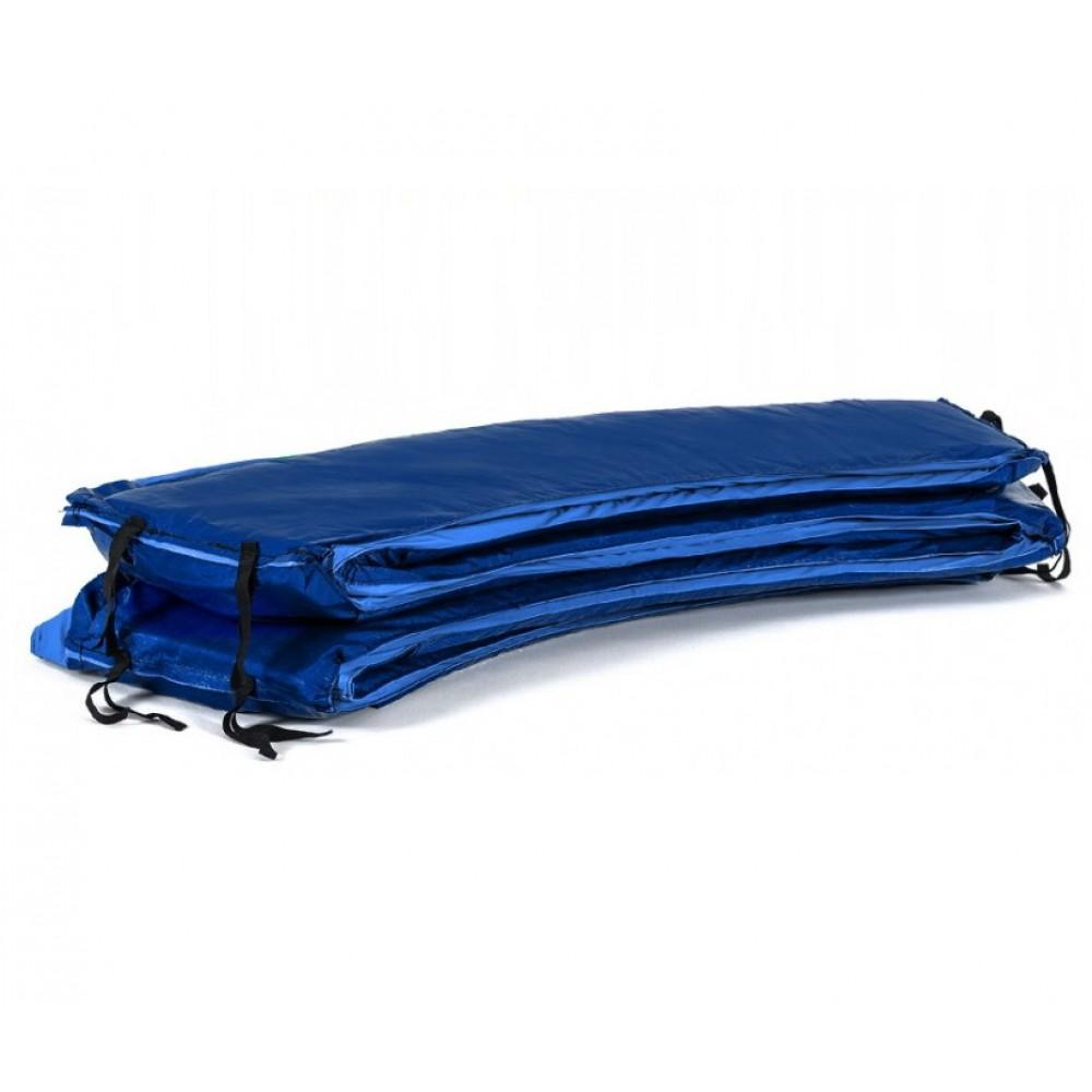 Защитный мат на пружины Hop-Sport 427 см Blue