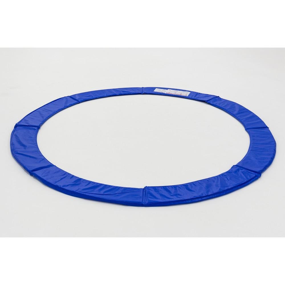 Защитный мат на пружины Hop-Sport 244 см Blue