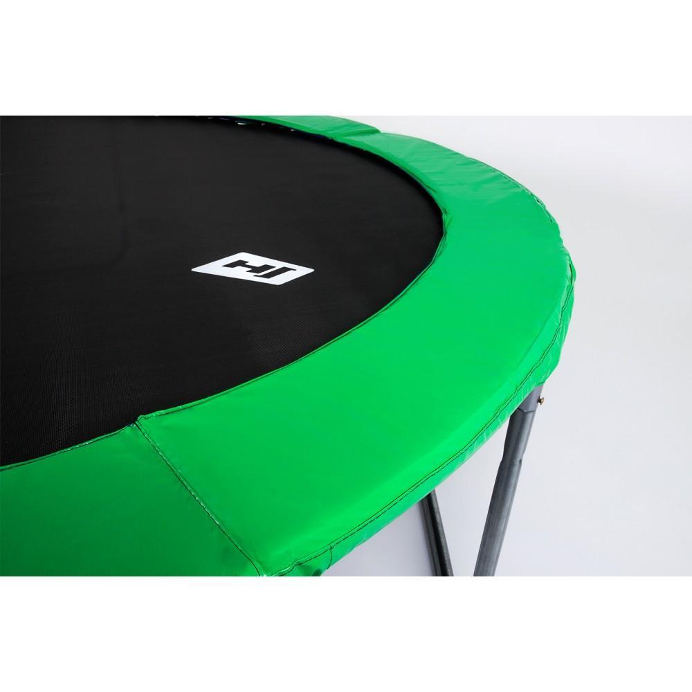 Защитный мат на пружины Hop-Sport 244 см Green