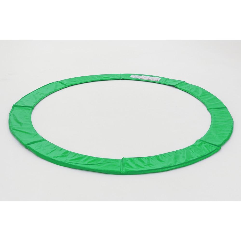 Защитный мат на пружины Hop-Sport 305 см Green