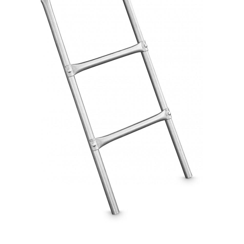 Батут 4FIZJO 252 см с сеткой и лестницей
