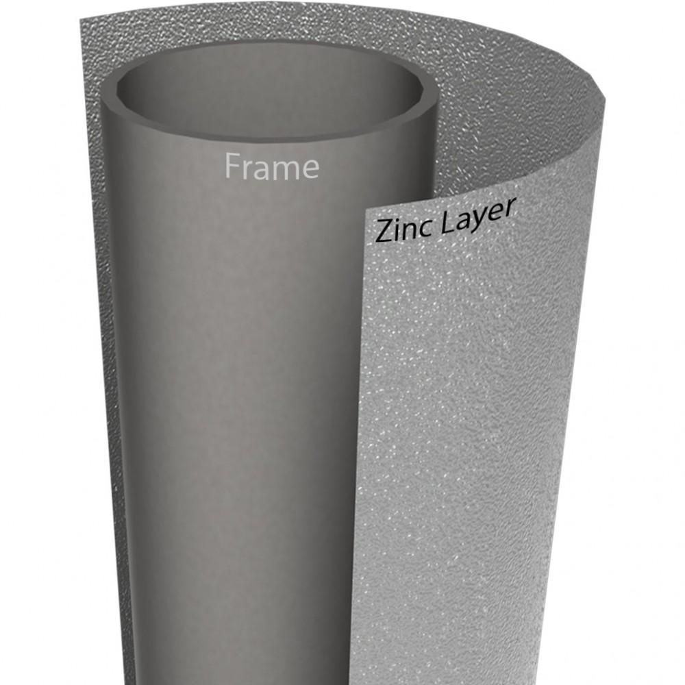 Батут Berg InGround Favorit Grey 200 см с сеткой Comfort