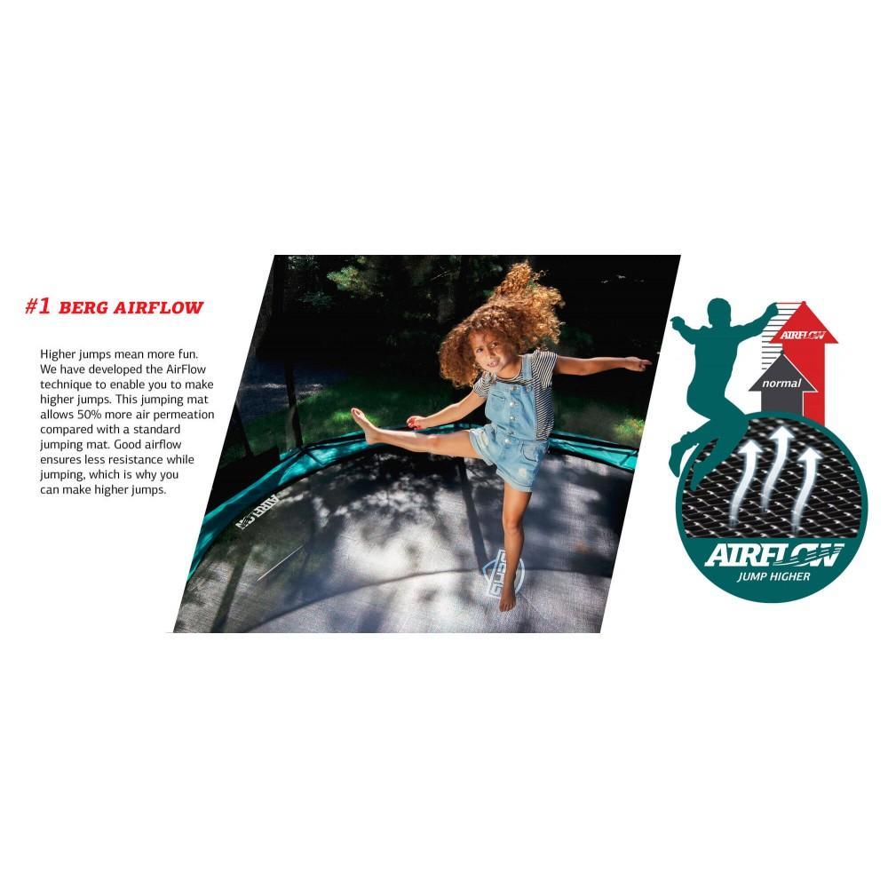 Батут Berg Champion Green 270 см с сеткой Deluxe