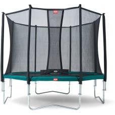 Батут Berg Favorit 380 см Green с сеткой Comfort