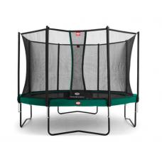 Батут Berg Champion Green 380 см с сеткой Comfort